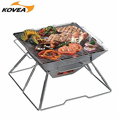 Kovea KG-0712 Magic Stainless Steel BBQ Grill Outdoor Camping
