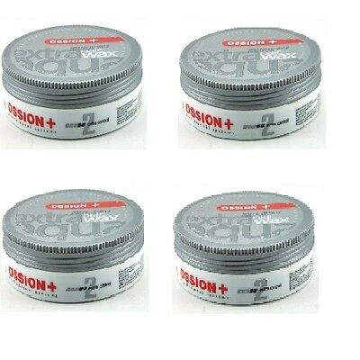 Lot de 4 Cire cheveux OSSION wax 175 ml