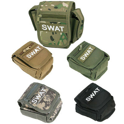 Outdoor Camping Hiking Military Tactical Fanny Waist Drop Leg Bag Pack Pouch AU