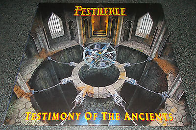 Pestilence-Testimony Of The Ancients-Orig 1991+Inner/insert-Athiest/cynic-Rare