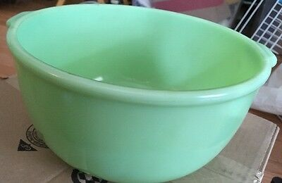 Vintage JADITE SUNBEAM LARGE MIXER BOWL Great Collectible Rare Find
