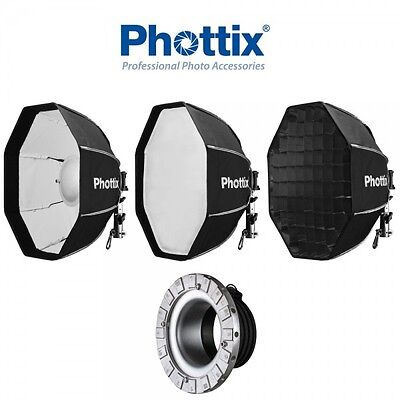 Beauty Dish/Softbox Phottix Spartan 70cm con Speedring para Profoto