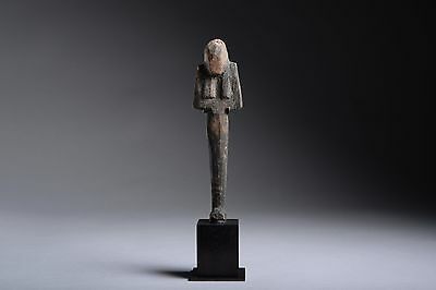Ancient Egyptian New Kingdom Ramesside Wooden Shabti - 1295 BC