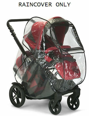 Brand new in bag Jane twone twin double pushchair raincover only