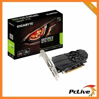 Gigabyte Nvidia Geforce 2GB GTX 1050 Graphic Card OC Low Profile 4K Gaming HDMI