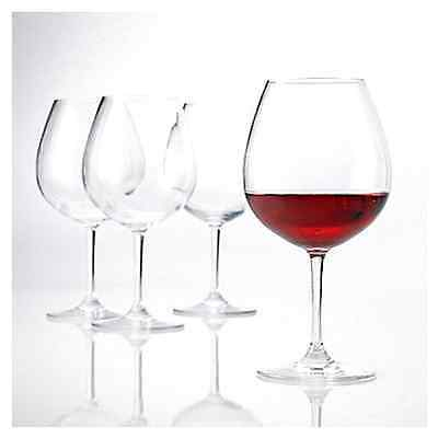 Polycarbonate Red Wine Glasses Set of 4
