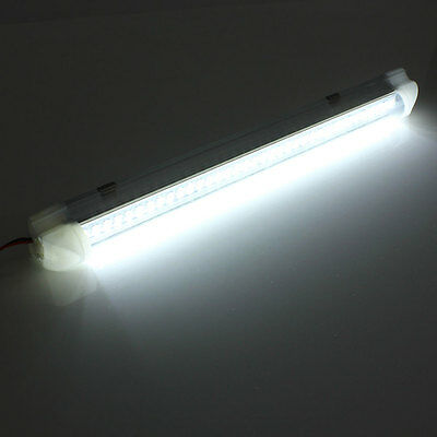 12V 2.5W 72 LED Auto Car Caravan Home Light Bar Lamp with On/Off Switch