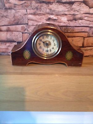 Antique clock with inlay