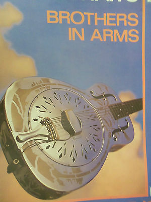 Dire Strits Concert 1985 Brothers In Arms Original  Tour Poster