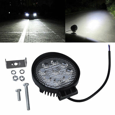 27W 12V 24V Spot Led Work Light Lamp Bar Boat Tractor Truck SUV AQ