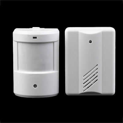 Driveway Patrol Garage Infrared Wireless Doorbell Alarm System Motion Sensor AQ