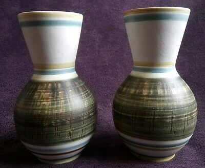 Pair of Cinque Ports Pottery Ltd The Monastery Rye Vases