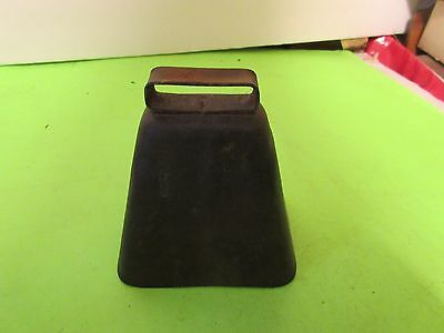 Antique Metal Cow Bell Solid Thick (PS6B)