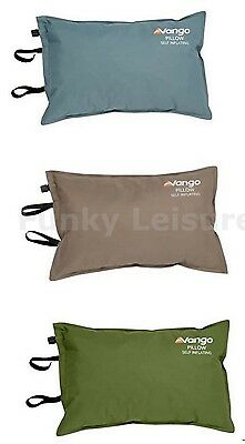 Vango Self Inflating Camping Pillow - Moss, Moonstone or Nutmeg