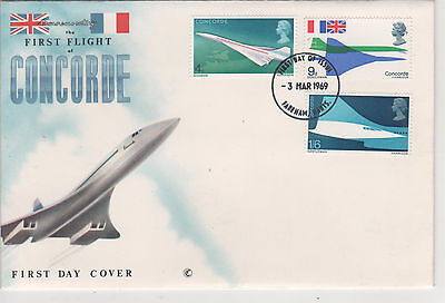Concorde - Gb 1969 First Day Cover