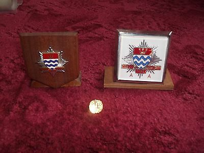 London Fire Brigade Badges and Pin