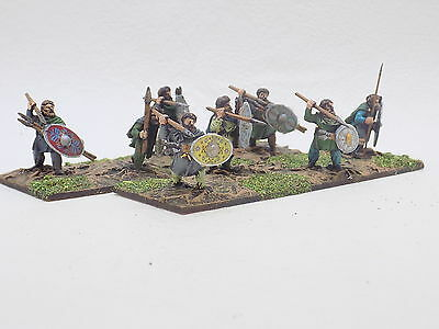 28mm Ancients DACIAN SKIRMISHERS with JAVELINS x8 Painted Hail Caesar 37677