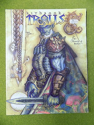 KITHBOOK 1 TROLLS Sourcebook for Changeling the Dreaming White Wolf 13984
