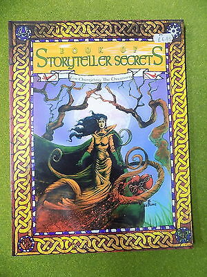 BOOK OF STORYTELLER SECRETS Sourcebook Changeling the Dreaming White Wolf 13981
