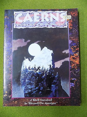 CAERNS PLACES OF POWER a Sourcebook for Werewolf the Apocalypse White Wolf 13980