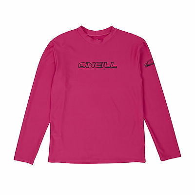 O'Neill Surf Tees - O'Neill YOUTH BASIC SKINS L/S TEE  - WATERMELON