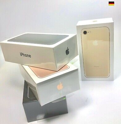 Apple iPhone 7er 32GB / 128GB / 256GB Jet / Black / Silber / Gold / Rosé Rot NEU