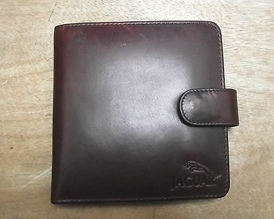 Leather CD wallet (20 cd slots) style-4 with Jaguar LOGO