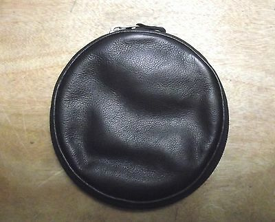 Leather CD wallet (12 cd slots) style-5