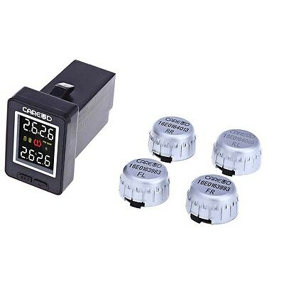 U912 Car Auto TPMS Tyre Pressure Monitoring System 4 External Sensors For Toyota