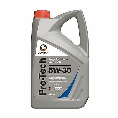 Comma Pro-Tech 5W30 Fully Synthetic Engine Oil 5Litre