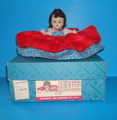 "Madame Alexander 8"" JO Little Women Doll Bent Knee  1963 w Box"