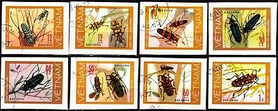 487 VIETNAM 1977 Fauna: Insects / Beetles. IMPERFORATE, Used