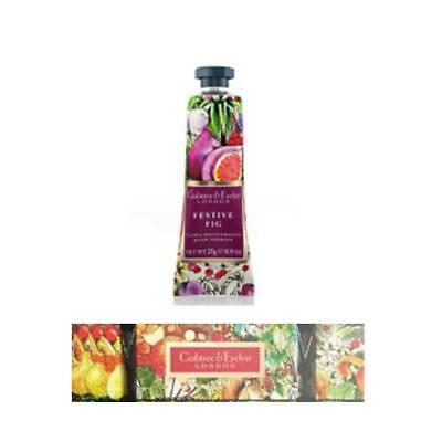 Crabtree & Evelyn Festive Fig Hand Therapy 25g Cracker Gift Set