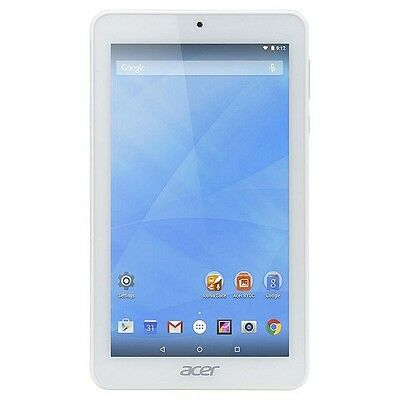 Acer Iconia B1-770 7 inch Quad Core Android Internet Tablet 16GB WiFi *White* B+