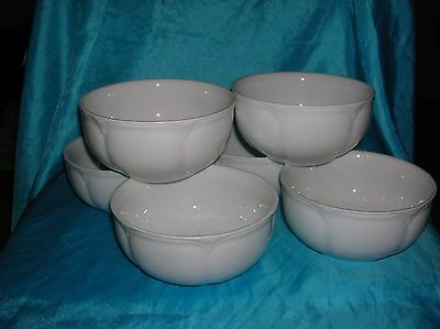 Marks and Spencer Stamford 6 x Cereal/Soup Bowls 5.25""