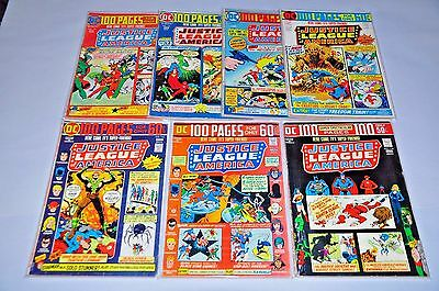 Justice League Of America 110 111 112 113 114 115 116 Lot 100 Pages