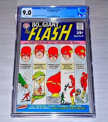 80 Page Giant 4 CGC 9.0 White Pages Flash