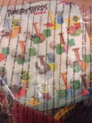 McDonald's Happy Meal Angry Birds The Movie Toy. Sealed