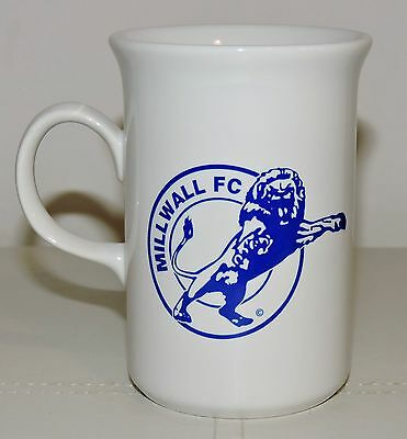 MILLWALL 1990s ATTACKING LION BADGE - ELEGANT COFFEE MUG - WOULD SUIT A LIONESS