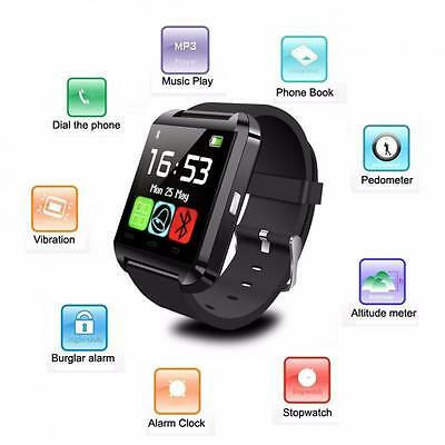 Smart Watch  Phone Bluetooth Orologio Telefono Per Android/ios  U8