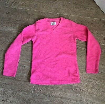 Lovely Girls PETER STORM Warm Pink V-Neck Fleece - Age 11-12 Years