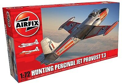 Airfix 1:72 Hunting Percival Jet (Provost T.3/T.3a) - Model Kit