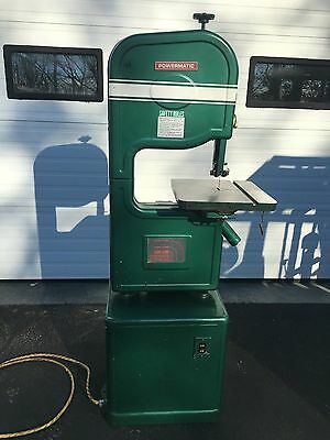 Powermatic Model 141 wood cutting band saw