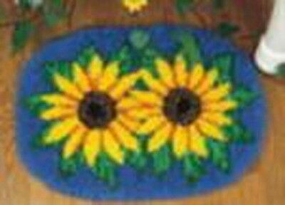 Sunflowers Latch Hook Rug 426125 Wonderart