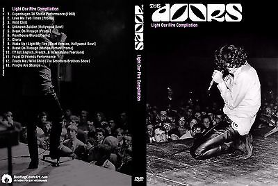 The Doors. 1968 - 1970. Light Our Fire. Compilation. Pro - Shot. Dvd.