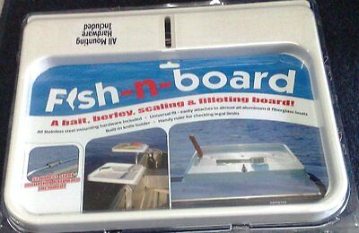 Fishing Boat Cutting Bait Board 430mm x 359mm H/Duty Built To Last Quality Plus