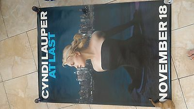 Cyndi Lauper -  At Last Giant Poster