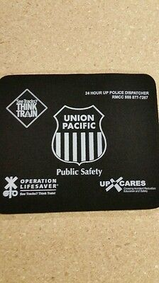 UNION PACIFIC RAILROAD Rubber Backed Mousepad buy 2 get 2 free.