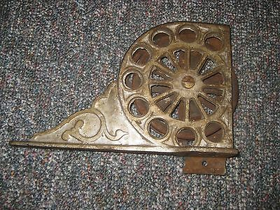 Antique Cast Iron Ladder Wheel Pulley Architectural Salvage New York Industrial