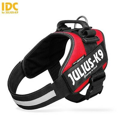 Julius-K9 IDC® Power Dog Harness Adjustable Comfortable Reflective Free UK P&P